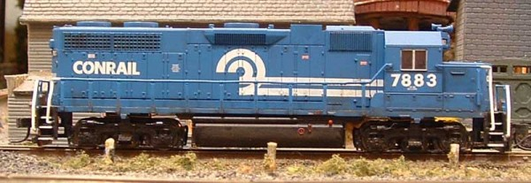 Roster shot of my Conrail GP38 7883